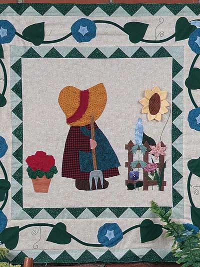 Gardening Sue Wall Quilt